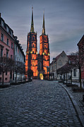 Eastern Europe Photos - Wroclaw Cathedral by Sebastian Musial