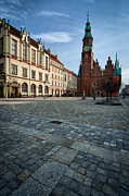 Eastern Europe Photos - Wroclaw Town Hall by Sebastian Musial