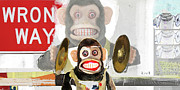 Monkey Art - Wrong Place Wrong Time by Michel  Keck