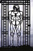 Wrought Iron Gate Print by Steve Harrington