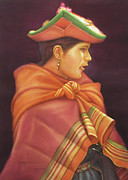 Bolivian Paintings - WS1979BO006Potosi Nicolaza 14x20 by Alfredo Da Silva