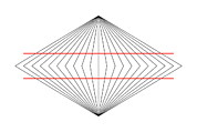 Parallel Lines Prints - Wundt Illusion Print by