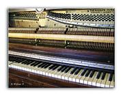Wurlitzer Piano Print by Brian Wallace