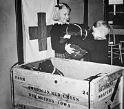 American Red Cross Prints - WW II: RED CROSS, c1942-43 Print by Granger