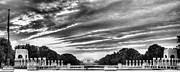 National Mall Framed Prints - WW TWO Memorial Framed Print by JC Findley