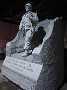 Soldier Sculptures - WW2 memorial by Jerry Williams