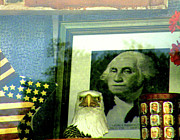 Eagle Picture Prints - WWGD - what would George do Print by Joe JAKE Pratt