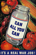 Home Front Prints - Wwii: Can All You Can Print by Granger