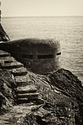 Leda Photography Prints - WWII Pill Box Print by Leslie Leda