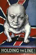 Wwii:churchill Poster 1942 Print by Granger