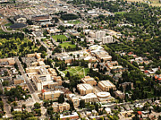 Wyoming Campus Aerial Print by University of Wyoming