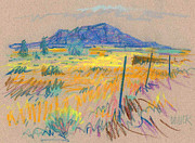 Wyoming Roadside Print by Donald Maier