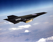 X-plane Prints - X-43a Aircraft Print by Nasa