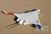 X-wing Framed Prints - X-48b Blended Wing Body Framed Print by Nasa