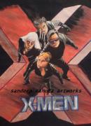 Kama Sutra Paintings - X-men by Sandeep Kumar Sahota