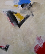 Red White And Blue Mixed Media - X Now V by Cliff Spohn