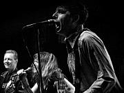 Rock  Photos - X  Rocking In Black and White  by Christopher  Chouinard