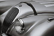 Classic Automobile Prints - Xk 120 Print by Dennis Hedberg