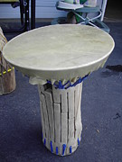Drum Sculptures - Xylophone Hand Drum by Hunter Quarterman