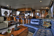 Bateau Framed Prints - Yacht cabin Framed Print by Al Hurley