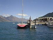 Pat Archer - Yacht on Lake Wakatipu