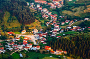 Rhodope Mountains Art - Yagodina Village by Evgeni Dinev
