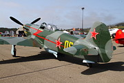 Yak Art - Yak 9U Airplane . 7d15792 by Wingsdomain Art and Photography