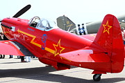 P-51 Art - Yak 9U Airplane . 7d15801 by Wingsdomain Art and Photography