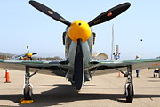 P-51 Art - Yak 9U Airplane . 7d15804 by Wingsdomain Art and Photography