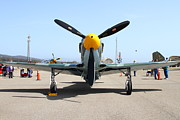 P-51 Art - Yak 9U Airplane . 7d15805 by Wingsdomain Art and Photography
