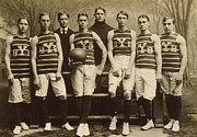 1901 Photo Posters - Yale Basketball Team, 1901 Poster by Granger