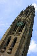 Dazzleme Photography Acrylic Prints - Yale University Cathedral Tower Acrylic Print by DazzleMe Photography