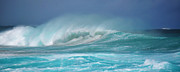 Splash Prints - Yallingup Surf Australia Print by Phill Petrovic