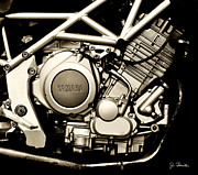 Yamaha Framed Prints - Yamaha Framed Print by Joe Bonita