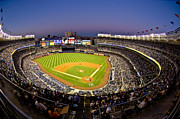 Twilight Prints - Yankee Stadium Print by Steve Zimic