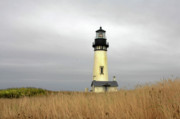 Spooky Originals - Yaquina Lighthouses - Yaquina Head Lighthouse Western Oregon by Christine Till