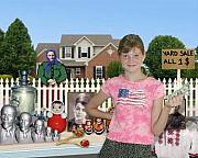 Yard Sale Digital Art - Yard Sale by Julia Bedriy