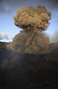 Yasur Eruption, Tanna Island, Vanuatu Print by Martin Rietze