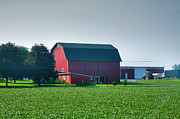 Barn Print Prints - Yates County Farm II Print by Steven Ainsworth