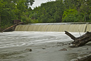 Grist Mill Prints - Yates Dam 5321 Print by Michael Peychich