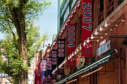 Boston Red Sox Metal Prints - Yawkee Way Metal Print by Paul Mangold