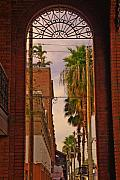 Ybor City Framed Prints - Ybor Arch Framed Print by Patrick  Flynn
