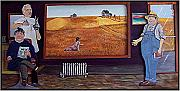 Rural Scenes Reliefs Acrylic Prints - Yeah Shes Been Out There For A While Now Acrylic Print by Richard  Hubal