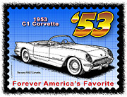 Year-by-year C1 Corvettes 1953 - 1962 - year-By-Year 1953 Corvette by K Scott Teeters