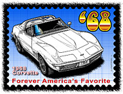Year-by-year C3 Corvettes 1968 - 1982 - Year-By-Year 1968 Corvette by K Scott Teeters