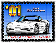 Year-by-year C5 Corvettes 1997 - 2004 - Year-By-Year 2001 Z06 Corvette by K Scott Teeters