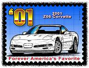 Year-by-year C5 Corvettes 1997 - 2004 - Year-By-Year 2001 Z06 Corvette by K Scott Teeters