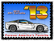 Year-by-year C6 Corvettes 2005 - 2013 - Year-By-Year 2013 ZR1 Corvette by K Scott Teeters
