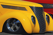 Custom Automobile Photos - Yellow 37 by Dennis Hedberg