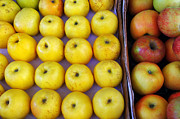 Grocery Store Prints - Yellow Apples Print by Carlos Caetano